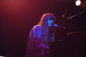 Jodie Marie Performing on the piano